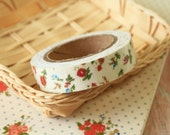 Blooming Flower Garden Flowers deco fabric tape