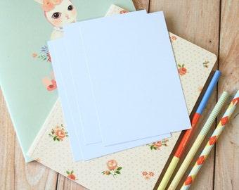 Pale Lilac postcard blanks