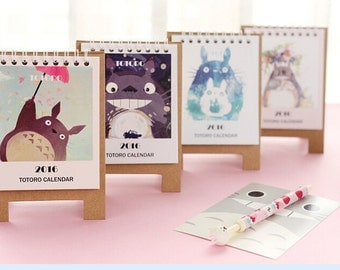 My Neighbor Totoro 2016 cartoon Mini desk calendar Ver 2