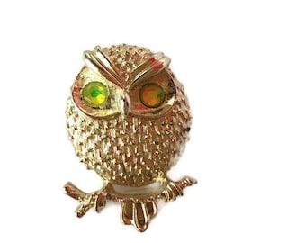 Vintage Owl Brooch, Sarah Coventry Owl