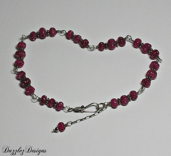 Ruby bracelet plus size for Plus size jewelry bracelets