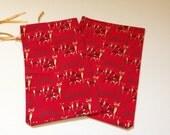 CHRISTMAS CLEARANCE - Reusable Cloth Christmas Bags - Set of 10 Smalls