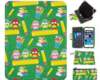Teacher Owl Ipad case Ipad Air Case tablet Ipad 4 Case Kindle Case Nook Case Ipad Air 2 case Ipad mini case Ipad Mini 3 case