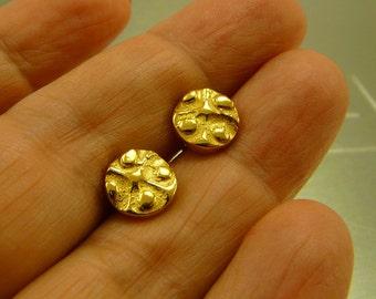 Goldplated Sterling Silver  Earrings
