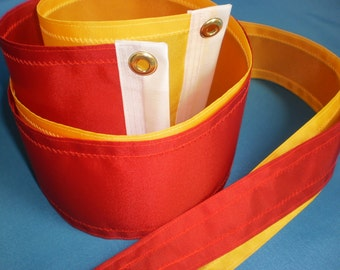 Nautical Masthead Streamers Red and Yellow Flags Gift for Him
