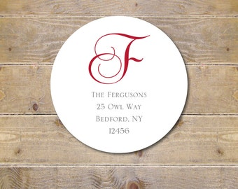 Address Labels, Return Address Labels, Family Address Labels, Monograms, Wedding Invite Address Label, Save The Date, Bridal Shower