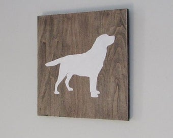 Dog Wall Art Wood Signs Rustic Wall Decor Dog Dog Home Decor