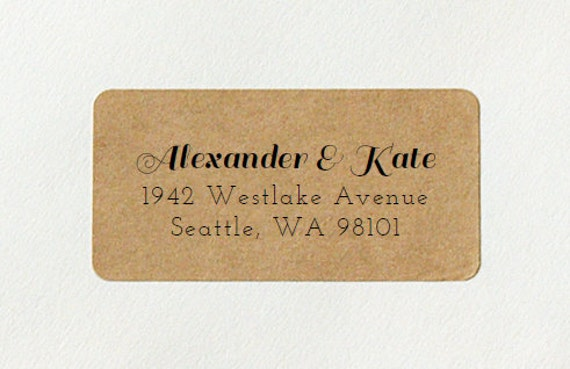Return Address Label Address Labels Personalized Labels
