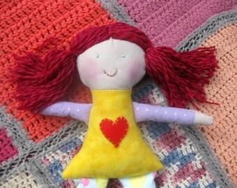 Rag doll/Pink hair doll/ecp friendly toys