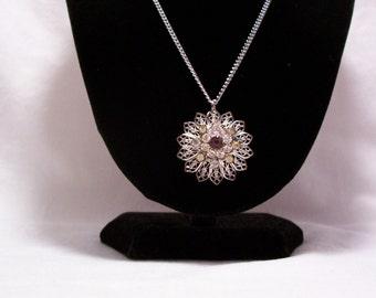 Vintage Necklace, Brooch, Vintage Jewelry