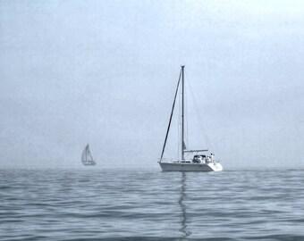 Sailboat photo, Sailboat, Sailboat art, Sailboat photography, Nautical decor, home decor