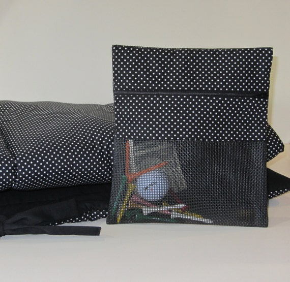 Golf Cart Seat Cover With Matching Zippered Bag The Perfect