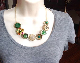 For the Fun of It button necklace