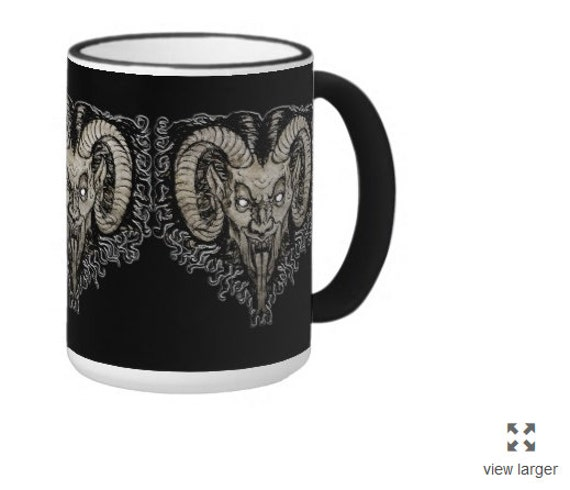 Krampus coffee or tea mug