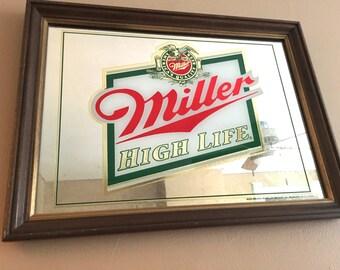 Miller Beer Mirror