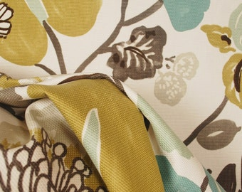 Gorgeous Pearl Tropical Floral Kaufman Fabric