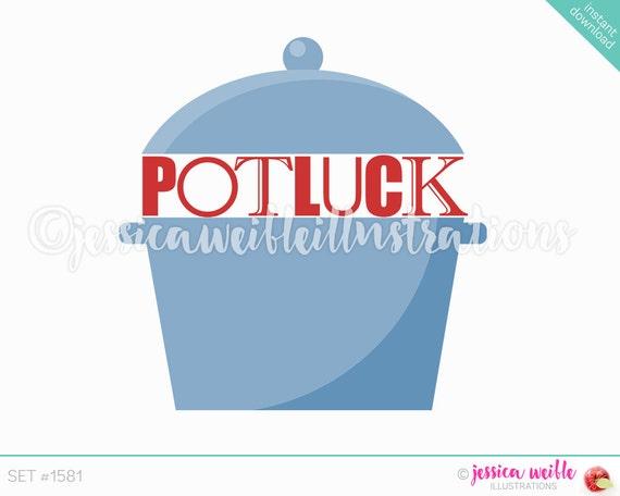potluck crockpot clip art cute digital clipart potluck clip art rh catchmyparty com potluck clipart black and white halloween potluck clipart