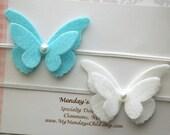 Butterfly Headband, Butterfly Baby Headband, Felt Flower Headband, Felt Butterfly Headband, Newborn Headband, Baby Headband Toddler Headband
