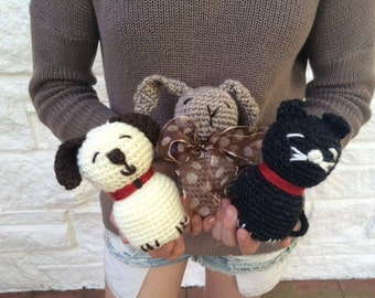 Petting Zoo Stuffed Animal Toy - Crochet PATTERN - Easy Pattern - Great for the Advanced Beginner