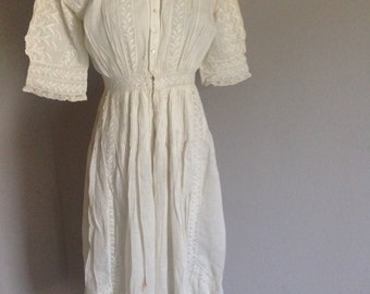 Vintage Edwardian Tea Dress