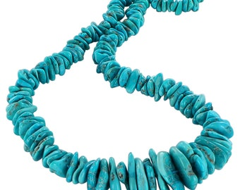 Sleeping Beauty Turquoise Beads 8-27mm