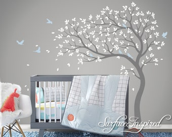 Wall decals murals etsy uk - Wall decor murals ...