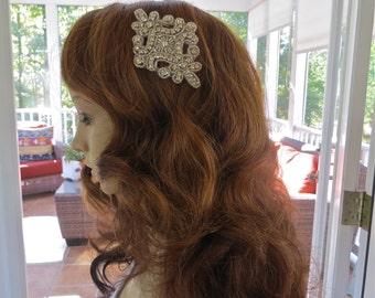 Bridal Rhinestone  Comb,  Bridal Rhinestone  Headpiece, Bridal Hair Accessory, Bridal Hair Comb, Wedding Hair Comb, Wedding Hair Accessory