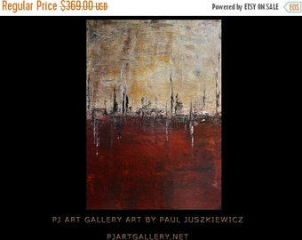 """15% OFF /ONE WEEK Only/ Extinction Ii abstract by Paul Juszkiewicz enormous texture 48"""" X 34"""""""