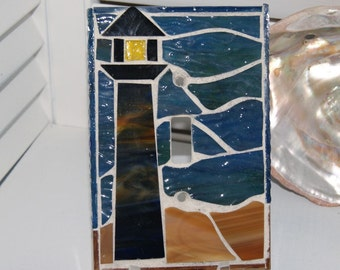 Oversized Lighthouse Switch Plate