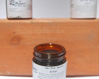 Herbal Coal Salve