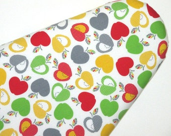 Designer Ironing Board Cover,  Standard Size,  Apples Theme,  Laundry Supplies, Sewing Room, Laundry Room