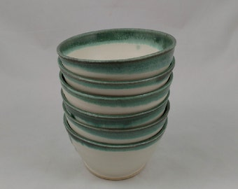 Pottery Soup Bowls Set of 6 Handmade by Daisy Friesen