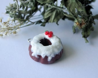 Cherry Chocolate Bundt Cake Charm