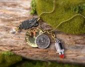 SALE Labyrinth Inspired Through Dangers Untold Necklace