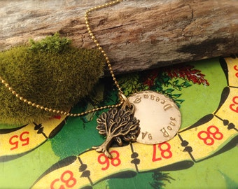 Tree Live Your Dream Necklace