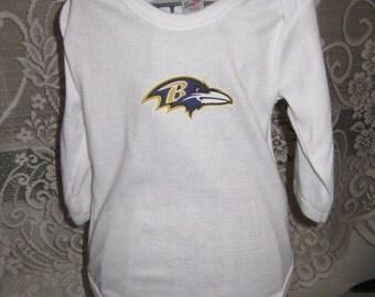 Ravens OnePiece or Tshirt, Ravens Tshirt, Ravens Boys, Baltimore Ravens