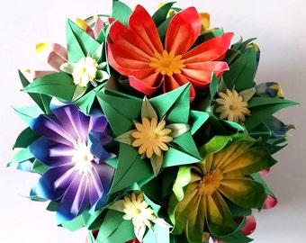 3D origami Flower Ball 2