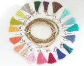 TASSEL COLOR CHART - Order Extras for your Jewelry