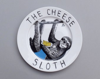 Cheese Sloth side plate