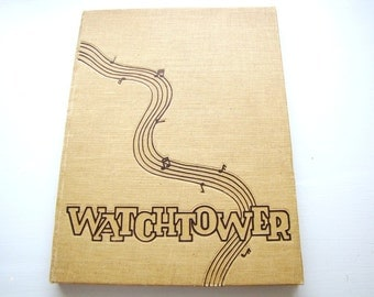 1941 Yearbook Beverly Hills High School Watchtower Celebrity Photos from AllieEtCie