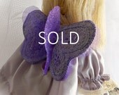 SOLD...Waldorf Doll...7 Inch Les Minuscules Fairy Doll...Age 4 and Up...Sebille....SOLD