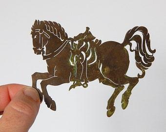horse stencil brass horse stencil decoration