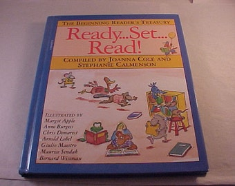 1990 The Beginning Reader's Treasury Ready Set Read Illustrated Children's Book