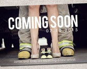 Pregnancy announcement: Printable (Coming Soon)