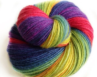 After the Rain - supreme shetland wool  - single thread shawl yarn 103gr 500m