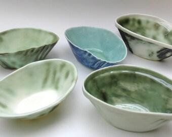 translucent porcelain bowl 'jade'