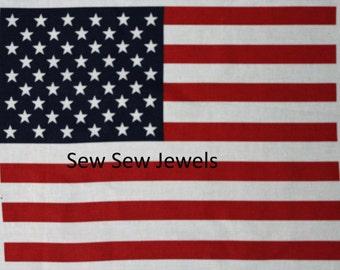 American Flag*Panel*BY Daisy Kingdom