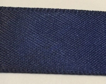 "CLEARANCE 40 yards Double Sided Satin Ribbon 5/8"" navy 40 yards"
