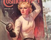 Vintage 1930s Magazine Cosmopolitan February 1937 Great Advertising Articles This Is A Complete Magazine