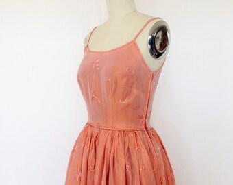 Vintage Dress 1950s Dress / 50s Dress / Party Dress 1950s Gown with Bolero Jacket / Prom Dress / Evening Dress / Strapless